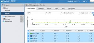 ESXi Host Client screenshot